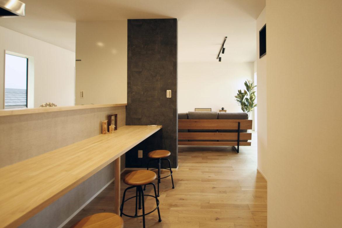 >西日本ホームオリジナル造作キッチンカウンター