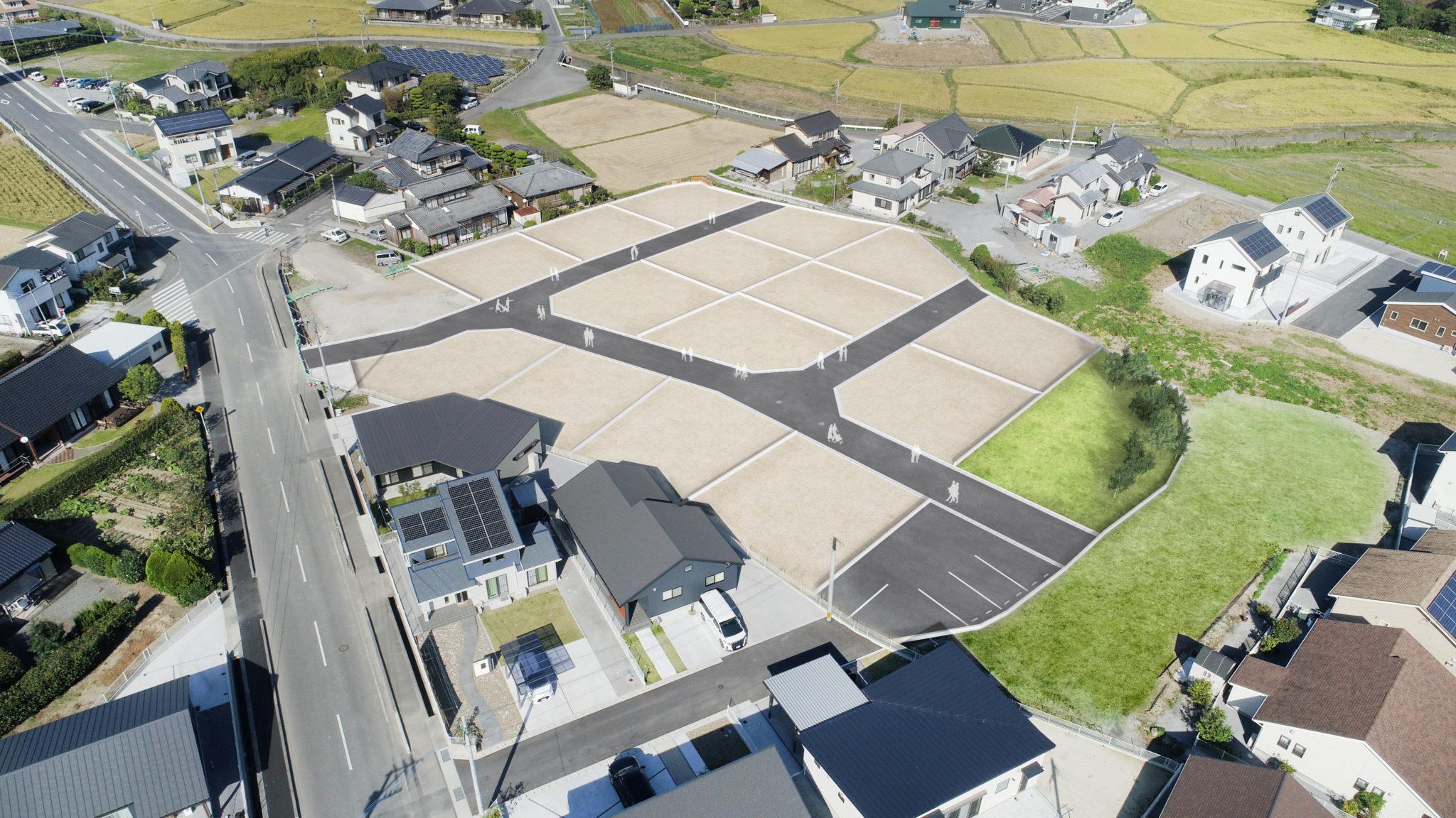 フォレストタウン桜坂 全15区画の新規分譲地 好評分譲中です!