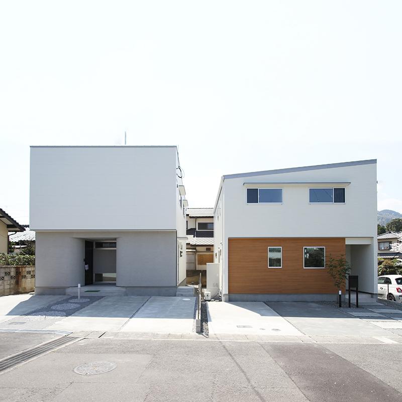 【大分市田尻】トレステラコート田尻 販売型モデルハウス 2棟 特別価格でお譲りします。